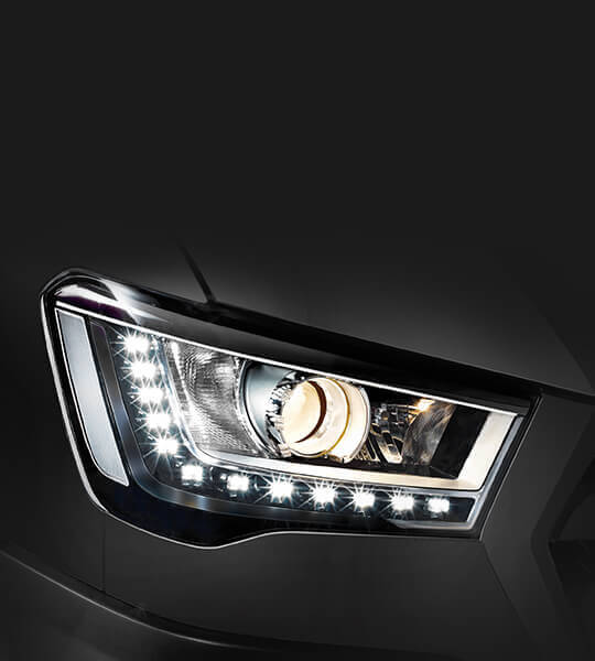 Projection headlamps