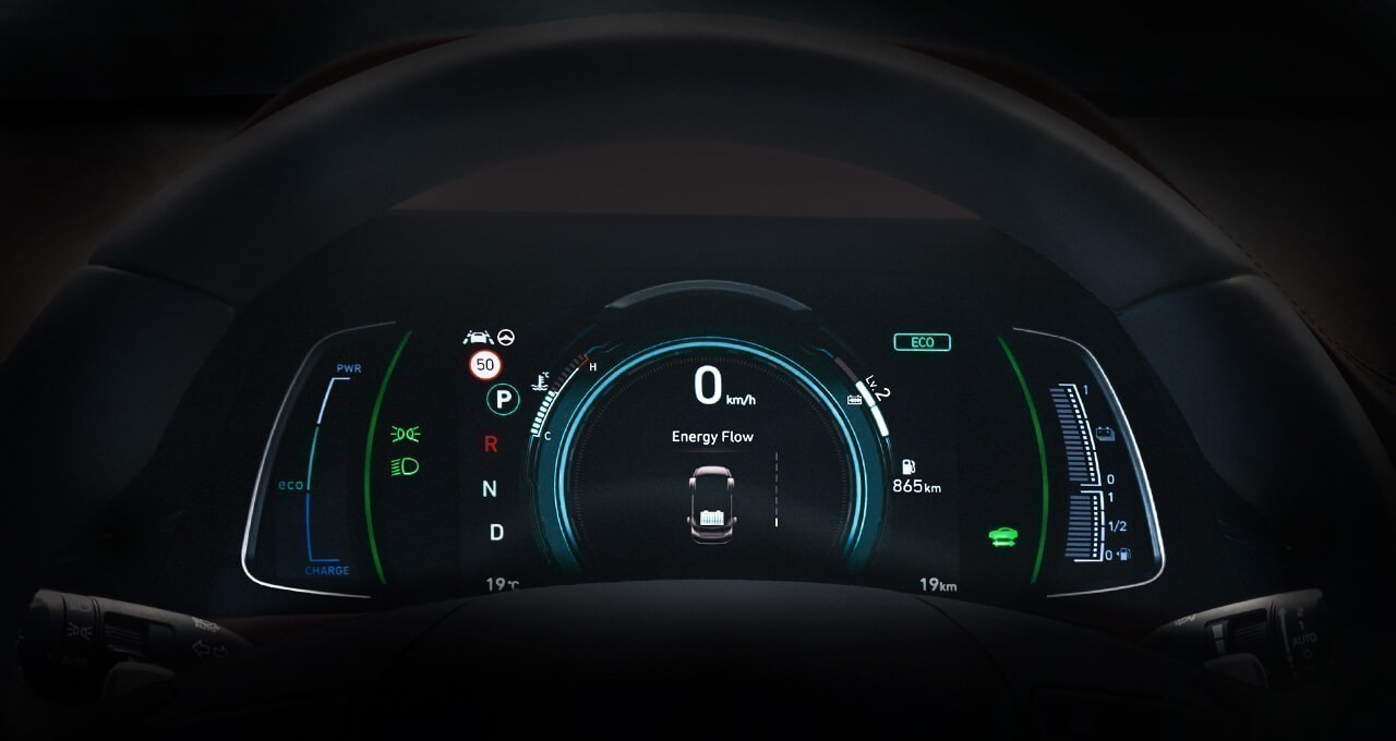 Dual mode virtual instrument cluster