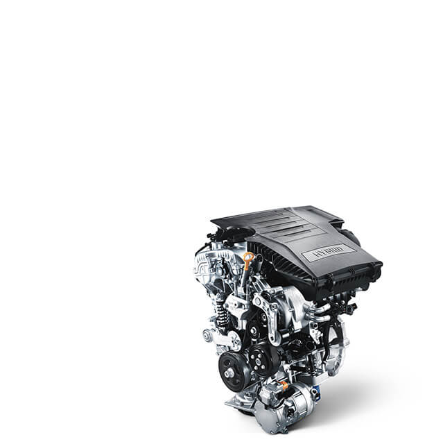 Kappa 1.6L Atkinson-cycle GDI petrol engine